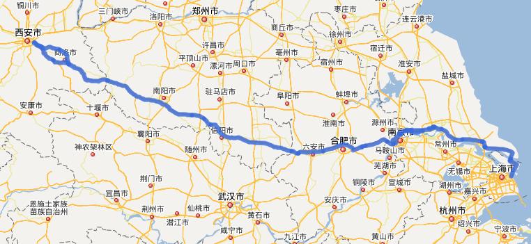 G40���高速公路�路�D示