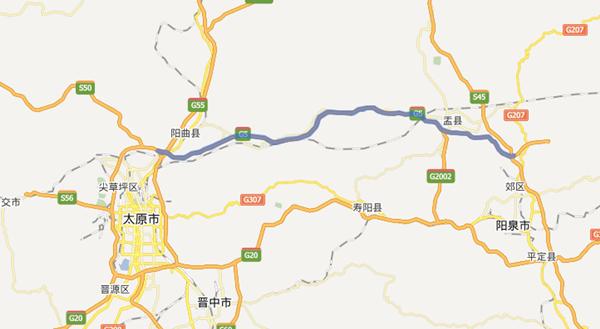 石太高速公路北线山西段
