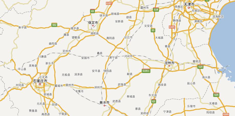 石港高速公路线路图示