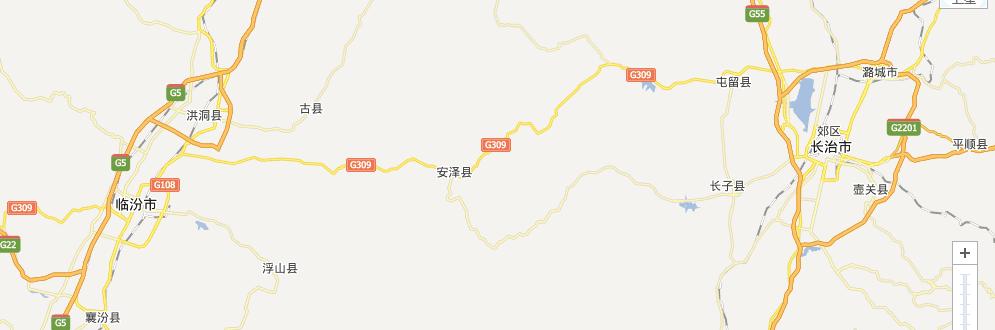 长临高速公路线路图示