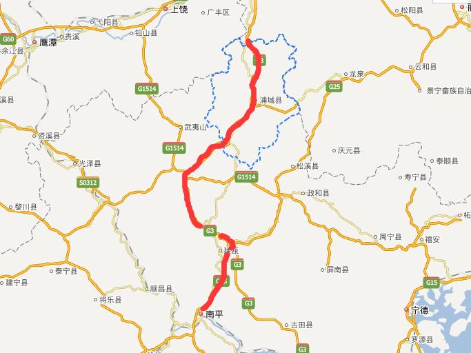 浦南高速公路线路图示