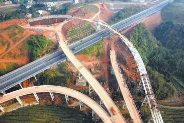 四川省宜叙高速预计将在2016年6月竣工通车